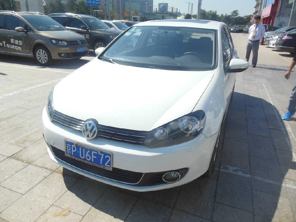 北京二手大众高尔夫自动竞价拍卖图片_车享拍二手车