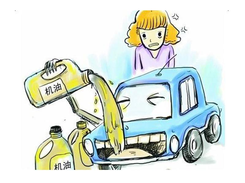 细节不要忽略      很多车友说自己的车严重烧机油
